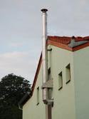 Nerezový komín, Brno Žabovřesky