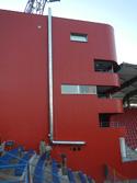Nerezový komín, od technologie, fotbalový stadion Jihlava